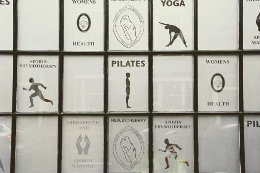 Ad courses fitness studio sport #99755