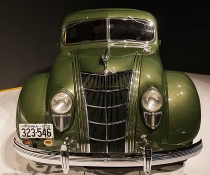 1935 chrysler imperial model c 2 airflow art deco automobile #99786