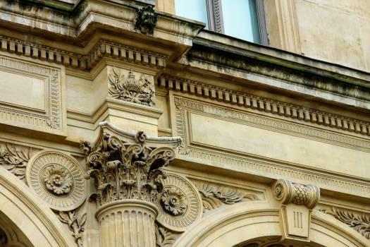 Architecture art nouveau balcony building #99904