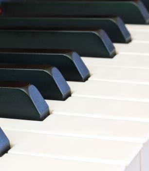 Black and white close compose instrument #99954
