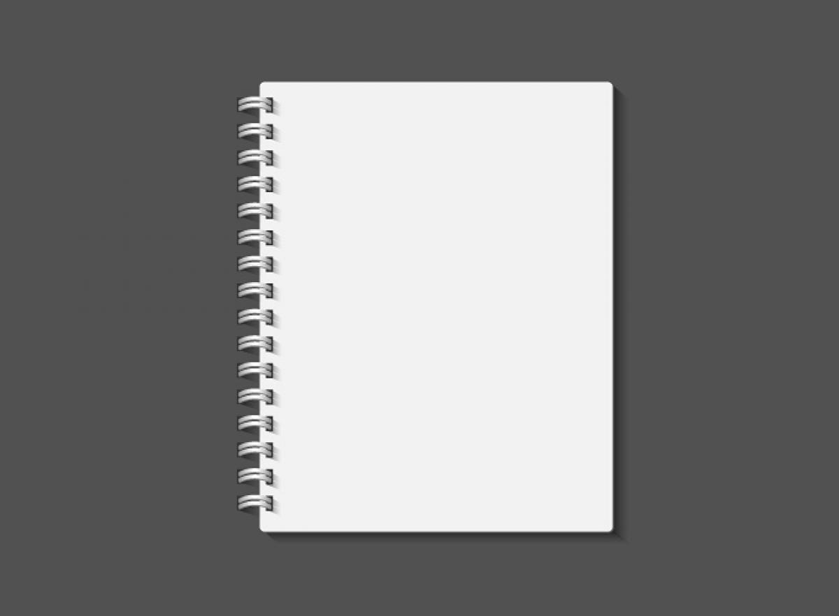 Notebook Frame Blank