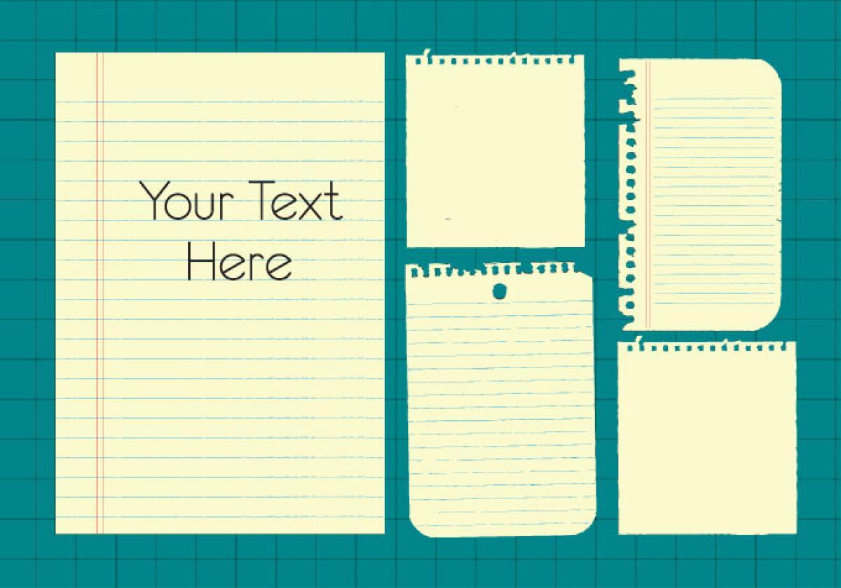 Paper Blank Design