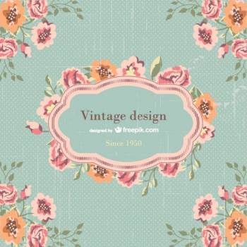 Floral Design Frame #330666