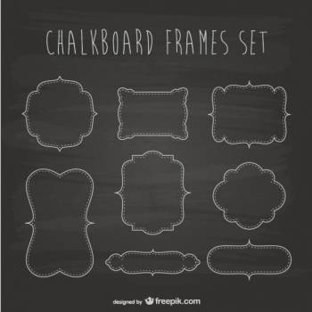 Map Blackboard Design #330696
