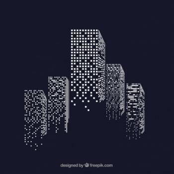 Skyscraper City Tracing #330759