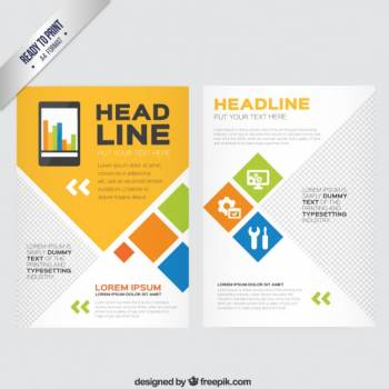 Template Business Design Free Photo