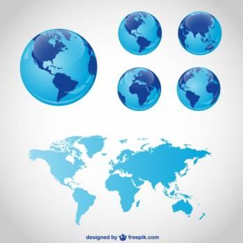 Atlas Globe Map Free Photo