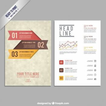 Template Business Paper Free Photo