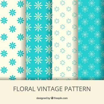 Design Floral Pattern Free Photo