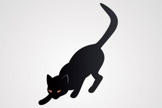 Kitty Silhouette Animal #331385