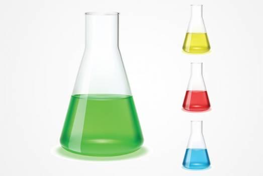 Glass Bottle Beaker #331420