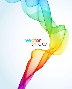 Smoke Art Curve Free Photo
