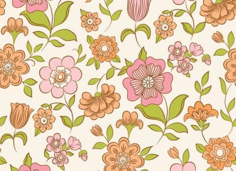 Floral Tile Pattern #331502