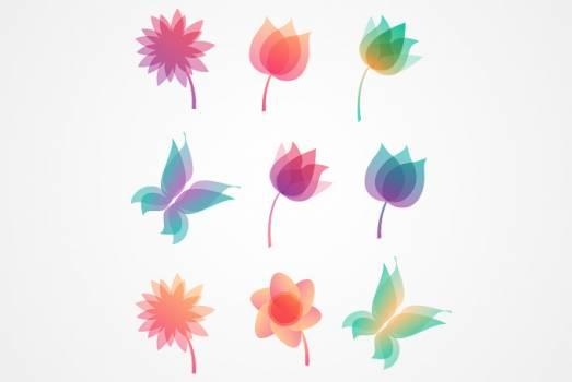 Design Pink Leaf #331508