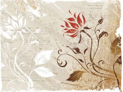 Grunge Floral Vintage #331545
