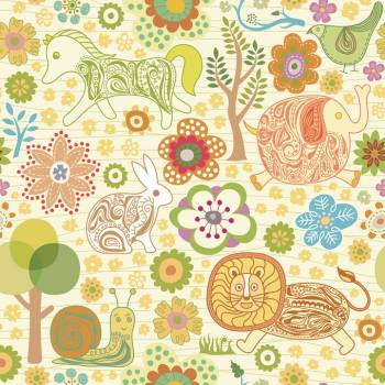 Paisley Fabric Floral #331548