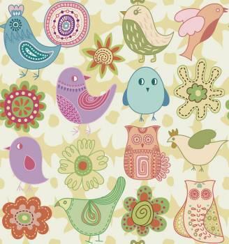 Tile Pattern Floral #331550