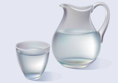 Pitcher Vessel Container #331559
