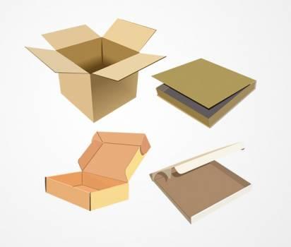 Blank Box Package #331597