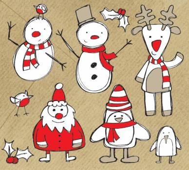 Snowman Figure Cartoon #331660