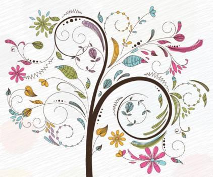 Floral Flower Design #331686